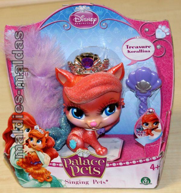 Palace Pets Singende Treasure Korallina Disney Prinzessin